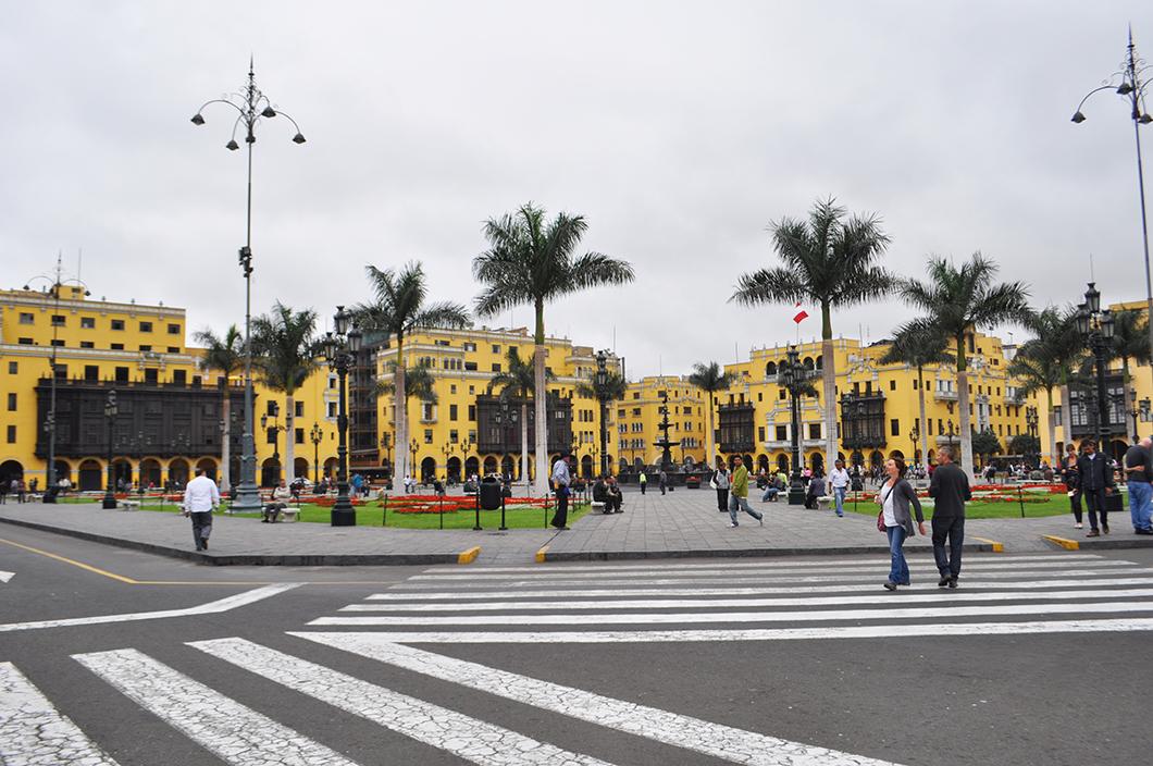 Lima - road trip Pérou