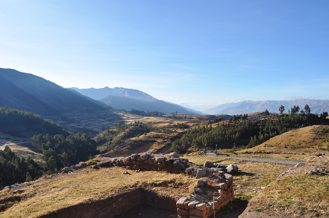 Puca Pucará - Road trip Pérou