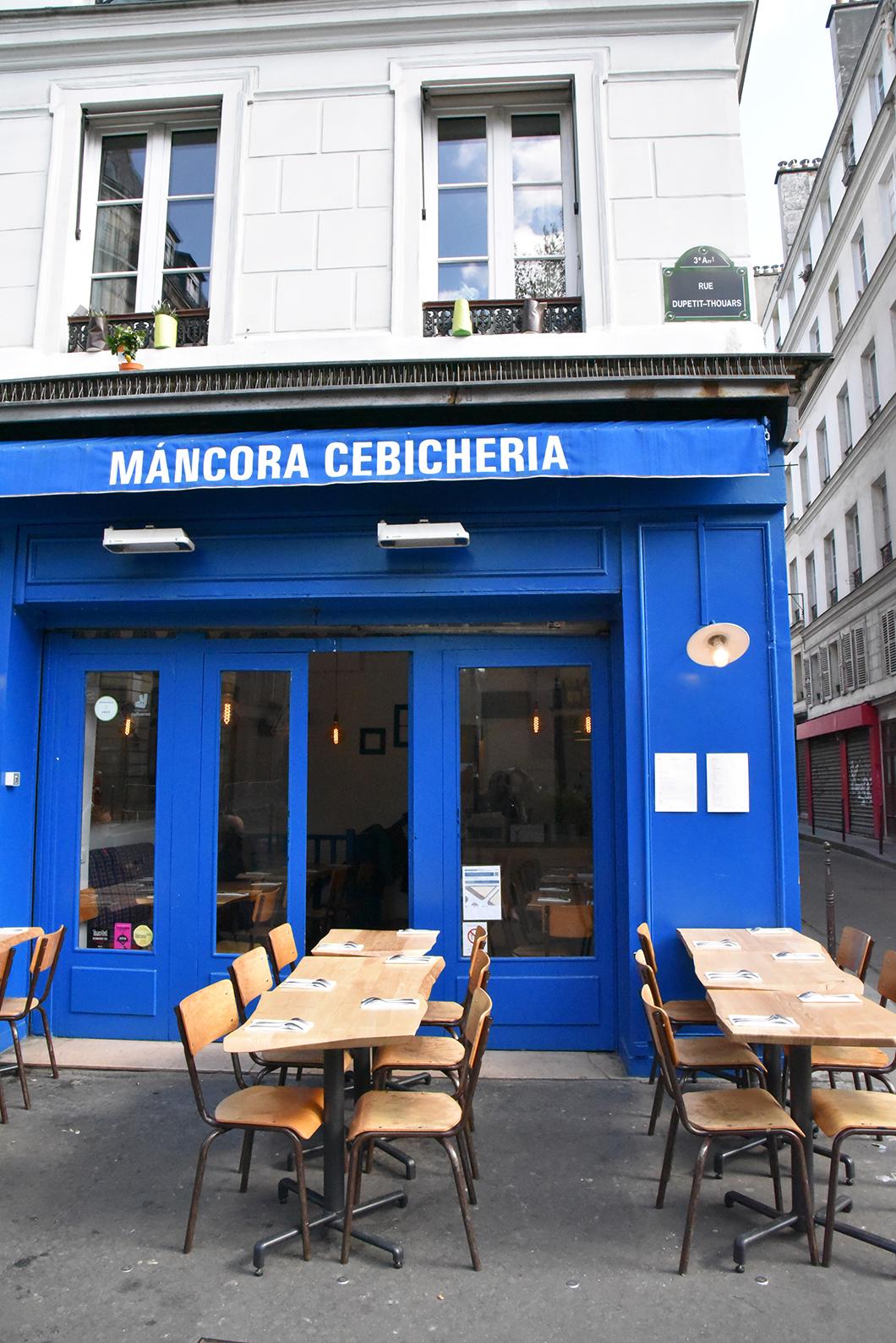 Máncora Cebicheria - top restaurants péruviens Paris