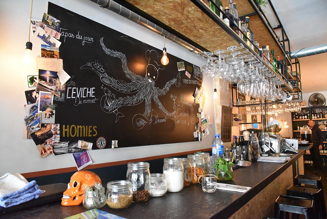 Homies - Top restaurants péruviens Paris