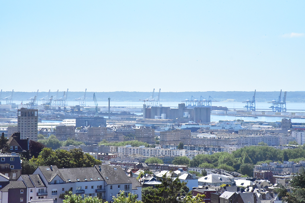 Les jardins suspendus - Le Havre