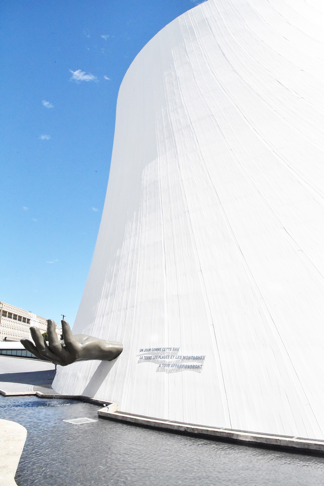 Volcan d'Oscar Niemeyer - Le Havre