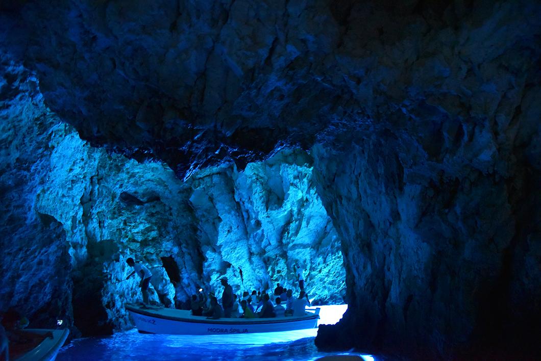 Biševo & la blue cave - Croatie