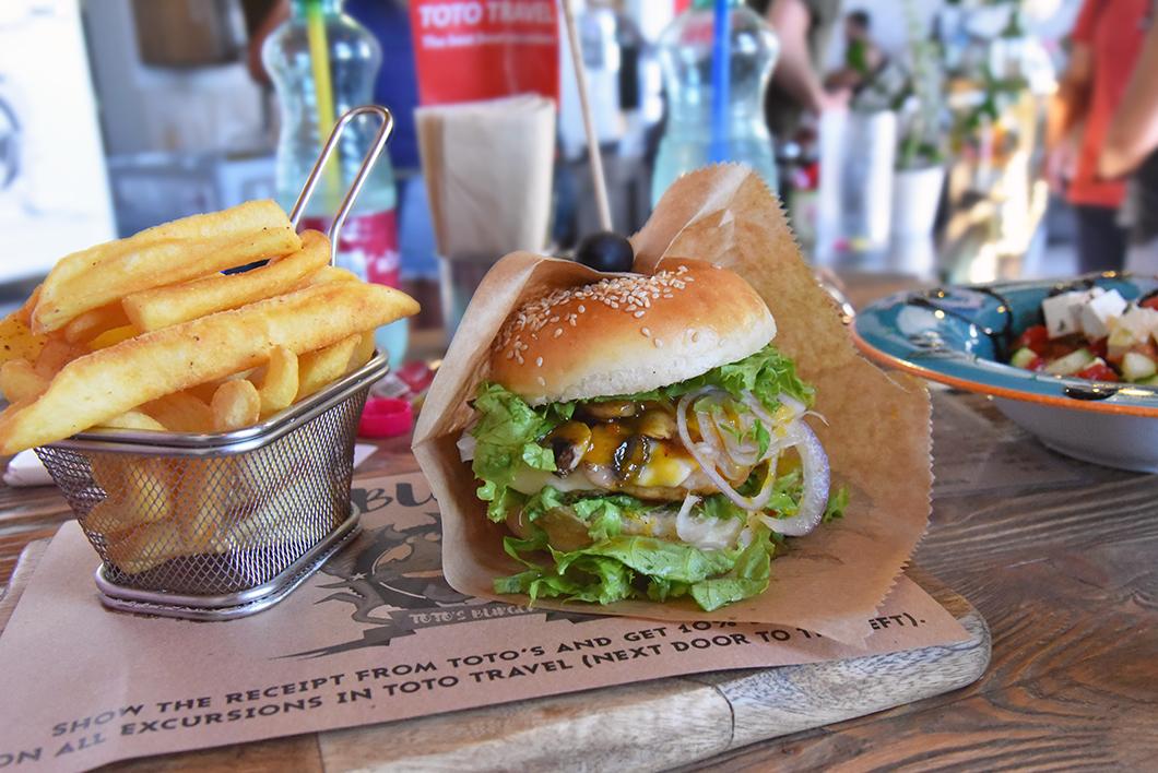 Bonnes adresses à Split - Toto's Burger Bar - Croatie