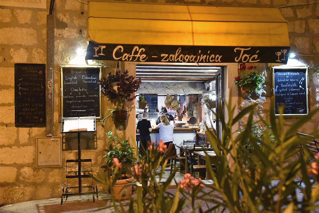 Bonnes adresses à Split - caffe Toc - Croatie